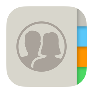 Apple contacts ios icon