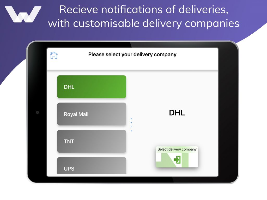 delivery handling feature